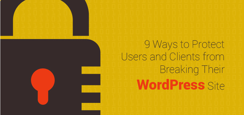 9-Ways-to-Protect-Users-and-Clients-from-Breaking-Their-WordPress-Site