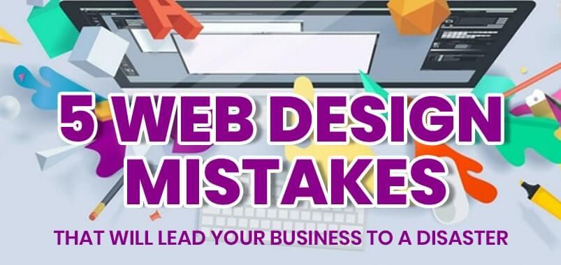 5-Web-Design-Mistakes